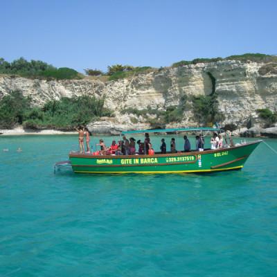 barca per gite in mare