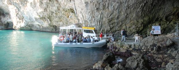 le grotte del salento in escursione