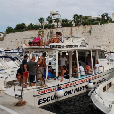 barca onda blu escursioni